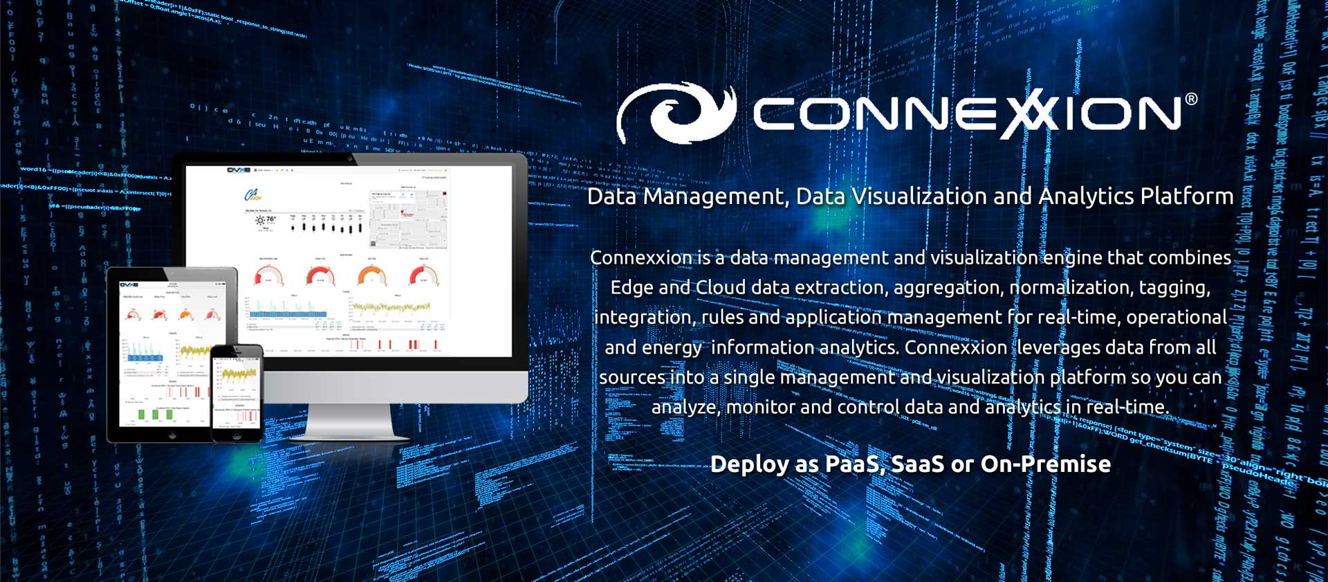 The Lynxspring Connexxion for Data Management, Data Visualization and Analytics