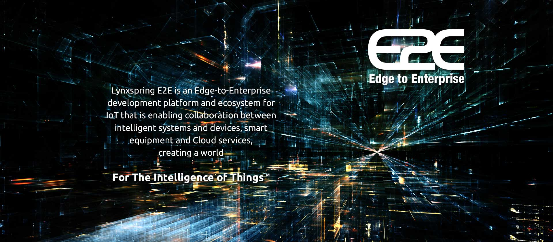 Edge to Enterprise (E2E) Solutions