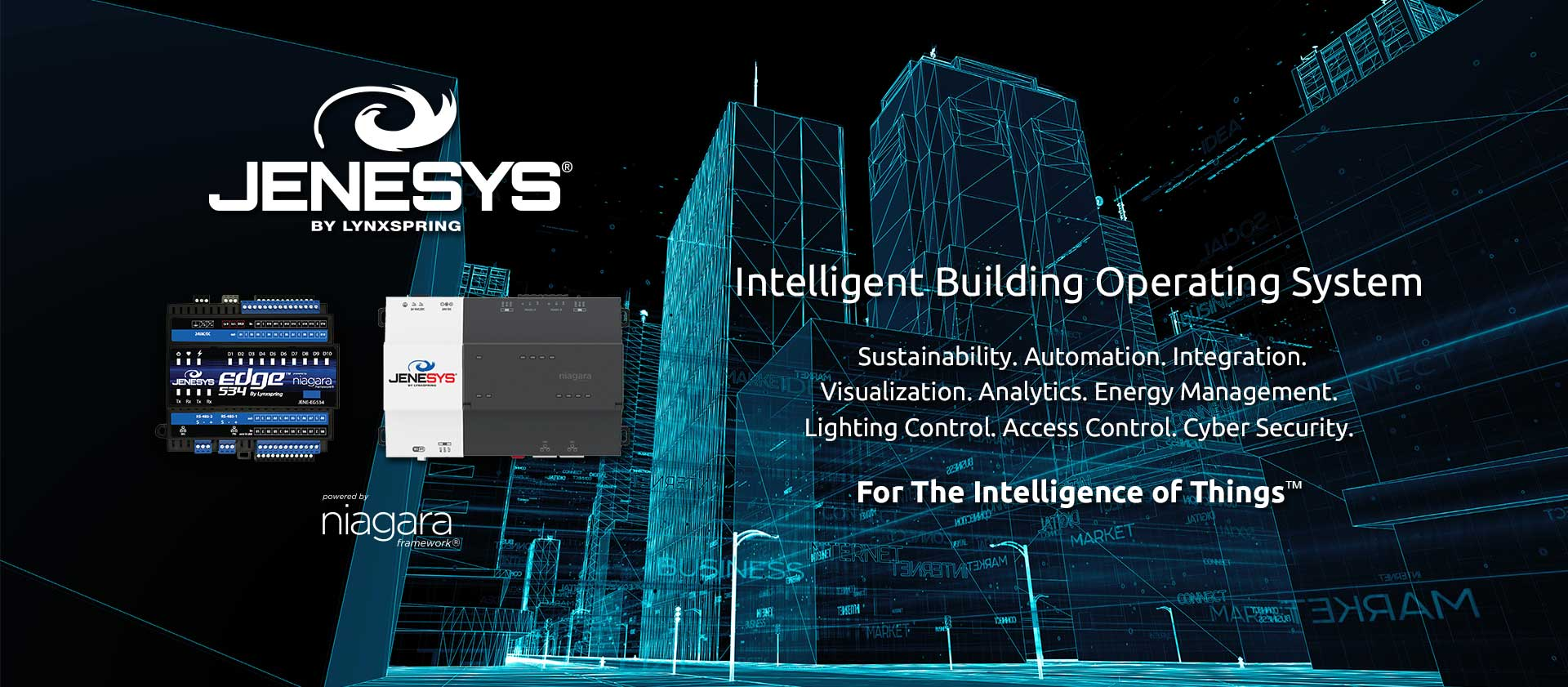 JENEsys Intelligent Building Platform