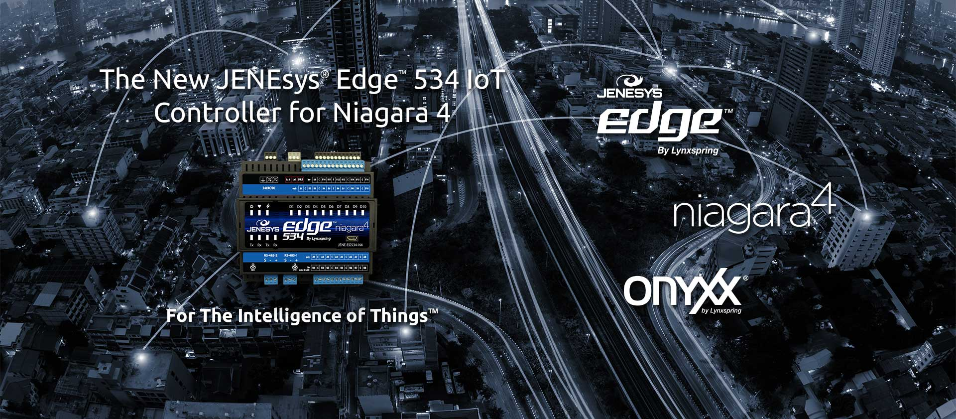 New JENEsys Edge 534 IoT Controller for Niagara 4