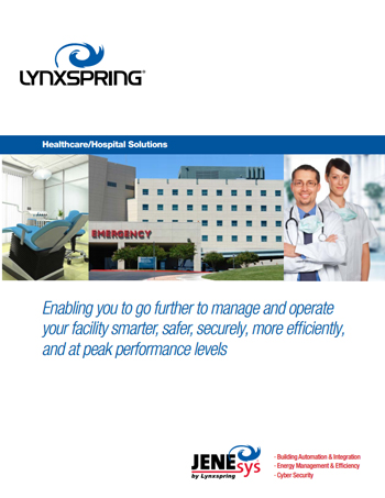 Healthcare and Hospital Facility Management and Operations Solutions Brochure